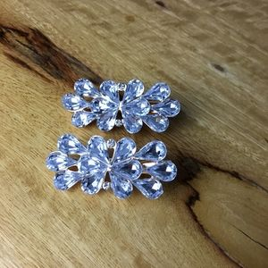 Accessories - Rose Gold Crystal Wedding Clip